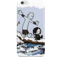 Calvin and Hobbes Beyond the Wall iPhone Case/Skin