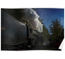 Nickel Plate Railroad 765 Steaming By Poster