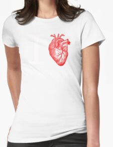 I Heart the Monkey Lab Womens Fitted T-Shirt