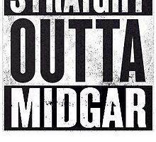 Straight Outta Midgar by TWMTees