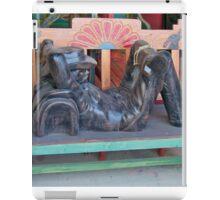 Buckeroo Bench iPad Case/Skin