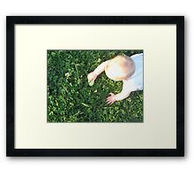 Egg Hunt Framed Print