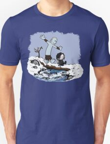 Calvin and Hobbes Beyond the Wall T-Shirt