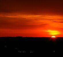 Sun Sets Always Somewhere by Larry Llewellyn