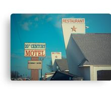 20th Century Motel Metal Print