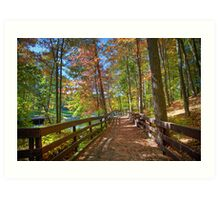A Pleasant Fall Day Art Print