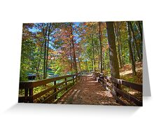 A Pleasant Fall Day Greeting Card
