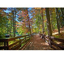 A Pleasant Fall Day Photographic Print