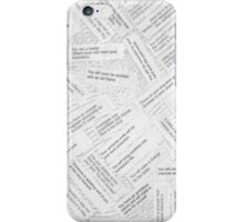 You Can Choose As Many As You Can Handle! iPhone Case/Skin