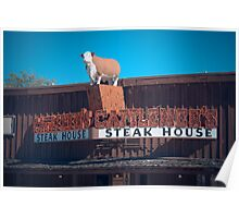 Cattlemen's Steak House Poster