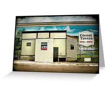 """Cheap Pool""- Irene, South Dakota Greeting Card"
