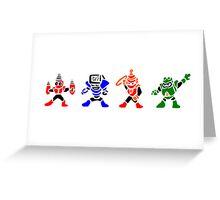 Megamans 4 Greeting Card