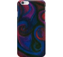 Red and Blue Eyes iPhone Case/Skin