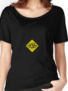 Ghost Of Tom Joad On Board Women's Relaxed Fit T-Shirt