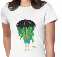 Under This Umbrella Womens Fitted T-Shirt