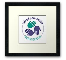 Official Mixed Connective Tissue Disease Logo Framed Print