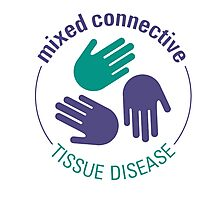Official Mixed Connective Tissue Disease Logo Photographic Print