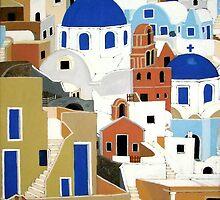 Santorini by Shulie1