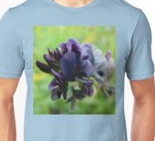 Purple Alfalfa Blossom Unisex T-Shirt