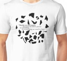 we leave pieces Unisex T-Shirt