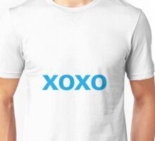 Hugs and Kisses - cyan Unisex T-Shirt