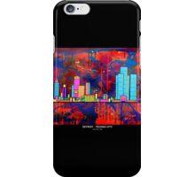 DETROIT -  TECHNO CITY iPhone Case/Skin