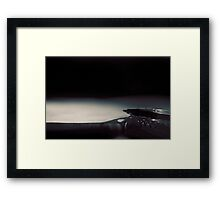 It all starts with an idea Framed Print