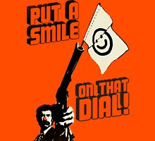 Put a smile on that dial, punk Unisex T-Shirt
