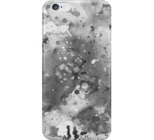 Black and White Painting iPhone Case/Skin