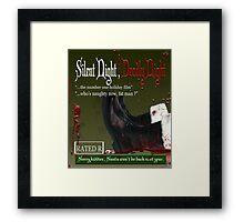 deadly night Framed Print
