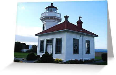 Mukilteo Lighthouse by Marjorie Wallace