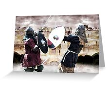 Defender of the Knights Greeting Card