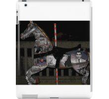 merry-go-round horse iPad Case/Skin