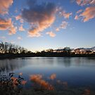 Autumn Sky Over Indiana by Curtiss Simpson