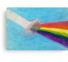 Invisible Rainbow Canvas Print