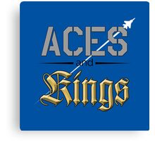Aces and Kings Canvas Print