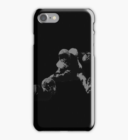 Hurdling Football Player Collection iPhone Case/Skin