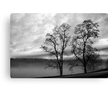 One Foggy Morning Canvas Print