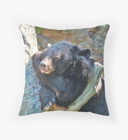 Blatt !!! Throw Pillow