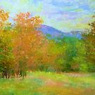 Early fall colors by Julia Lesnichy