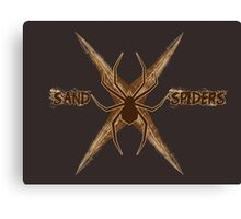 Sand Spiders Squadron Logo Canvas Print