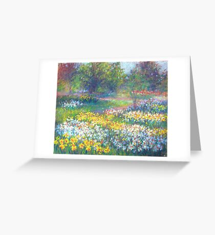 in spring Greeting Card