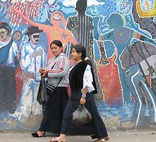 Women in Otavalo by alexandraelsa