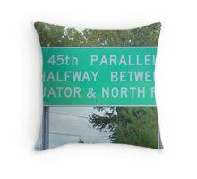 Magical Parallel Throw Pillow