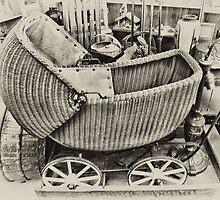Vintage Stroller by Cindy Mikulski
