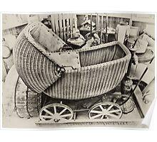 Vintage Stroller Poster