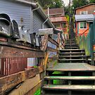 Streets of Ketchikan by zumi