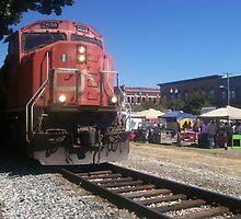 CN Comes Rolling Thru Ole Brook Festival 2010 by Dan McKenzie