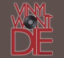 Vinyl Wont Die by KRASH (Ashlee Fensand)