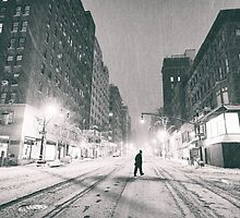 Snowstorm - New York City by Vivienne Gucwa